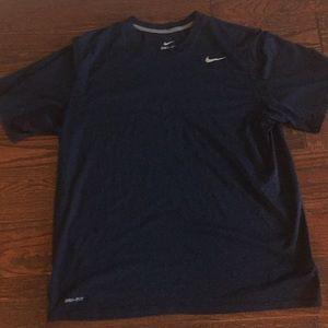Nike Dri Fit t shirt Navy Blue